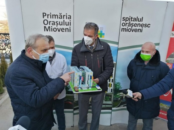Un nou centru de coordonare anti-COVID-19, la Spitalul din Mioveni, cu ajutorul Dacia