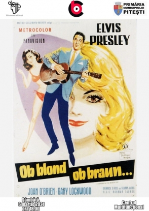 Film cu Elvis Presley la Cinematograful București