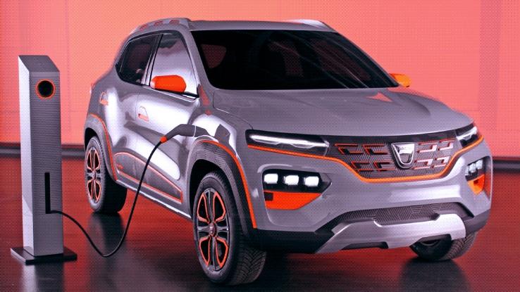 Dacia sărbătorește primăvara în stradă și anunță sosirea modelului Spring, revoluția electrică pentru toți
