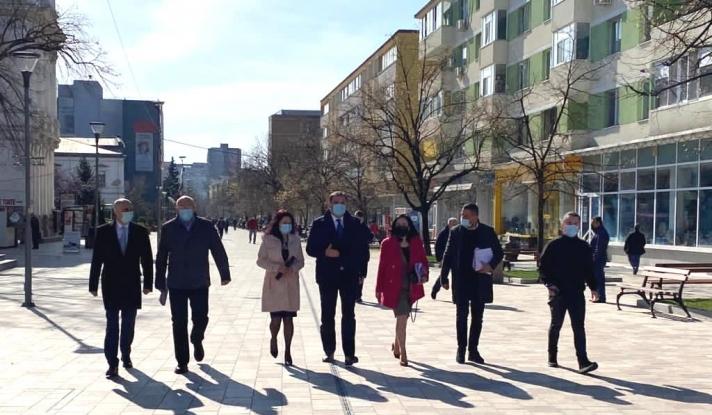 Ministrul Dezvoltării, Lucrărilor Publice și Administrației, domnul Cseke Attila, s-a aflat ieri în vizită oficială județul Argeș