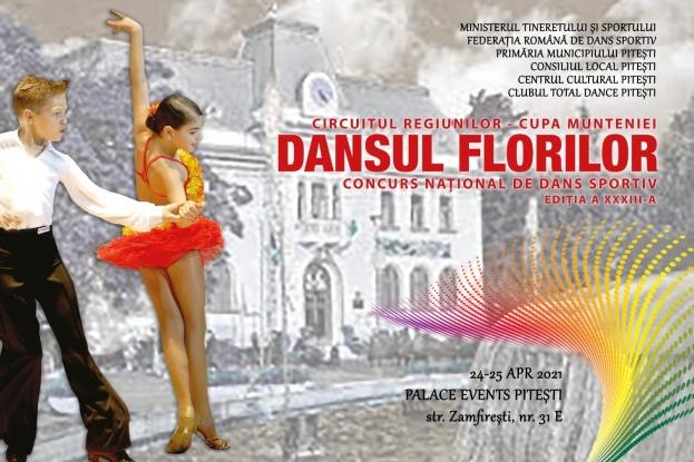Concursul Național de Dans Sportiv Dansul Florilor - ediția a XXXIII-a