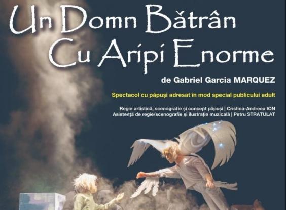 UN DOMN BĂTRÂN CU ARIPI ENORME revine în weekend la Teatrul Davila