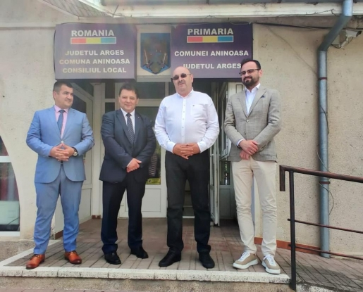 Marius Manole și-a depus candidatura pentru funcția de primar al comunei Aninoasa