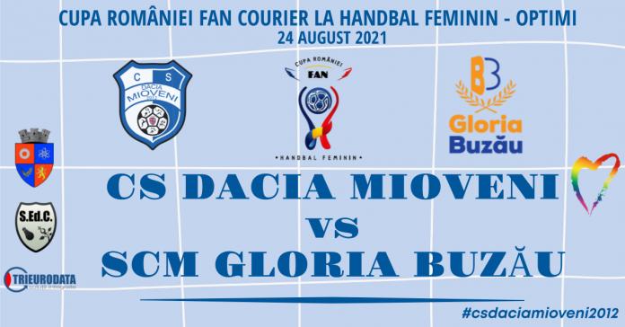 Partidă importantă pentru handbalistele Mioveniului, în Optimile Cupei României