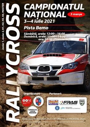 Sâmbătă și duminică, la Mioveni va avea loc o nouă etapă din cadrul Campionatului Național de Rallycross