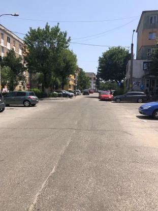 Sens unic de circulație – strada Oituz, în Pitești
