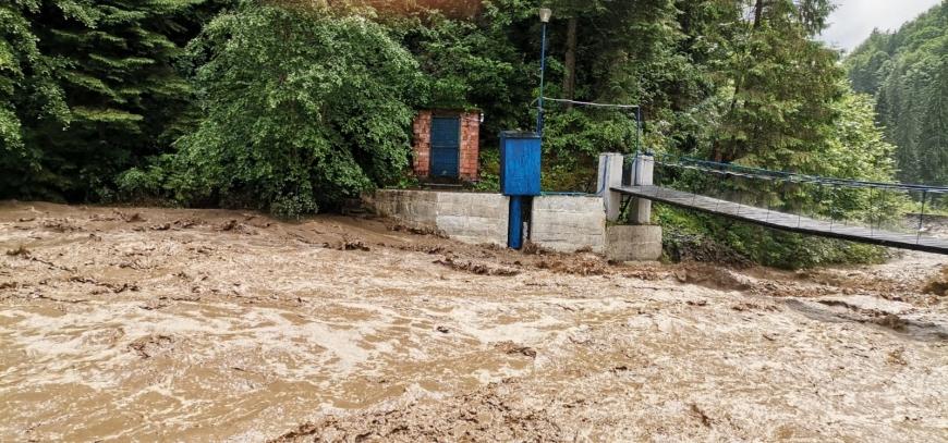 Depășiri ale debitelor pe râurile din Argeș