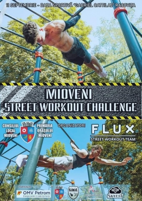 MIOVENI STREET WORKOUT CHALLENGE powered by FLUX – Street Workout Team!