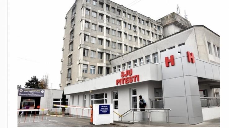 SJSU Pitești a suplimentat paturile la ATI