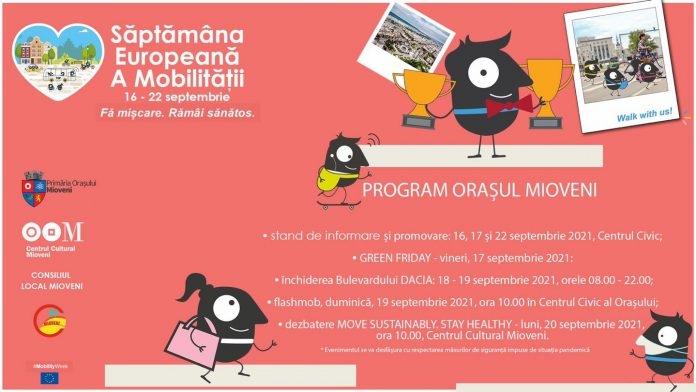 A început Săptămâna Mobilităţii, la Mioveni