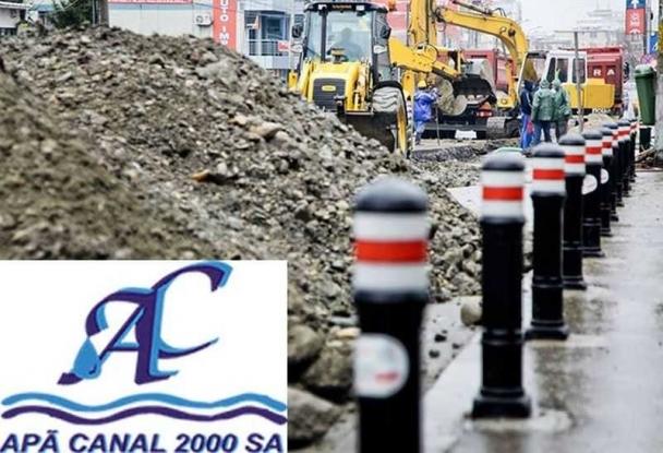 Apă Canal: Lucrările pe bulevardul Republicii continuă și azi