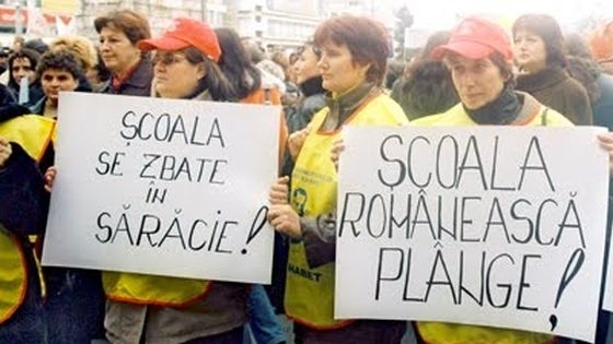 Sindicaliştii din educaţia argeşeană protestează pe 1 iunie