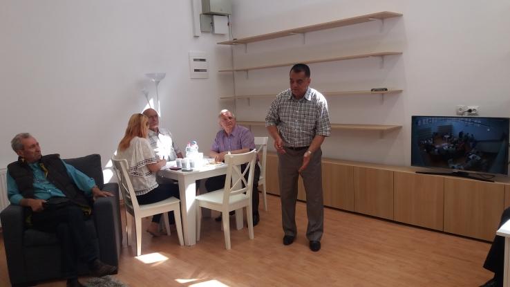 Club al seniorilor, inaugurat în Piteşti