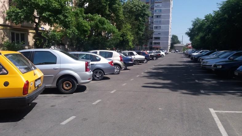 Bătălia pentru locurile de parcare