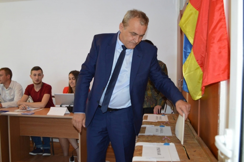 """Ion Georgescu:""""Am votat pentru continuitate """""""