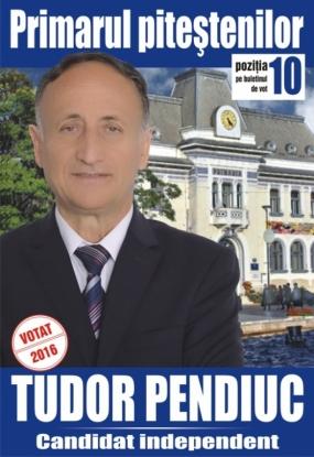 Tudor Pendiuc acuză fraude electorale şi va sesiza DNA