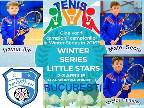 Trei tenismeni din Mioveni participă la Turneul Campionilor
