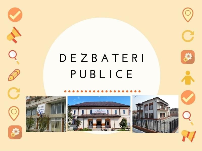 Primăria Mioveni îi invită pe cetăţeni la dezbateri