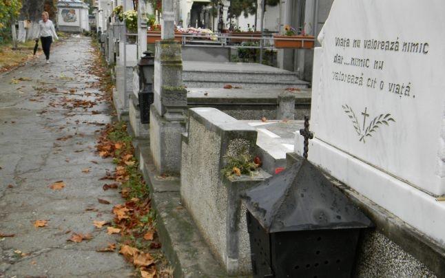 Investiţie finalizată la cimitirul