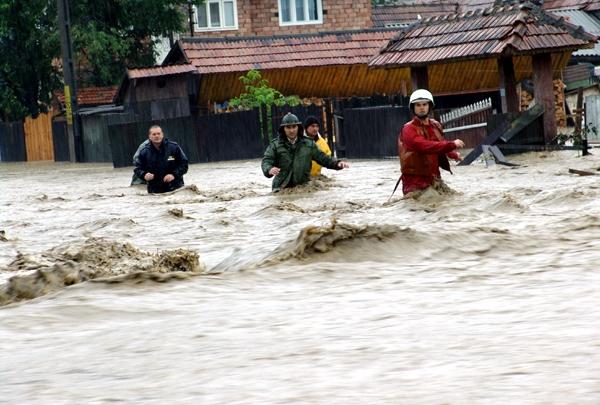 Zone inundabile în Argeş