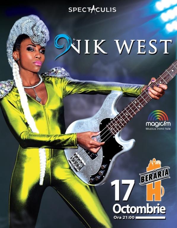 NIK WEST, artista care a colaborat cu Prince și John Mayer, concertează la București