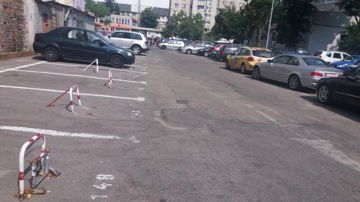Probleme în parcarea de la Fortuna