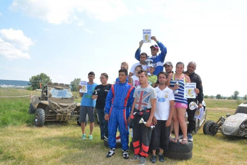 Mioveni:Campionatului Național de Rallycross şi-a desemnat câştigătorii