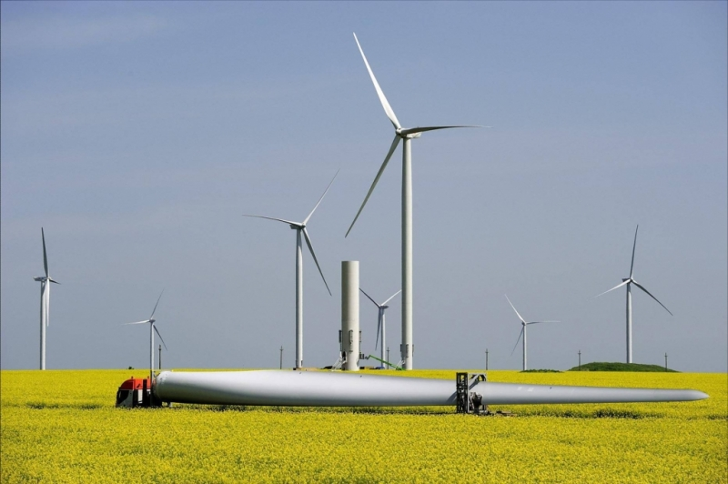 1 286 GWh de energie verde produsă de parcul eolian CEZ