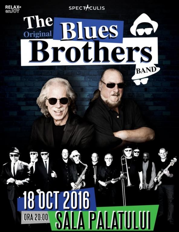 Legendarul grup The Original Blues Brothers Band concertează în premieră, în România