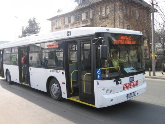 Staţie de autobuz, mutată