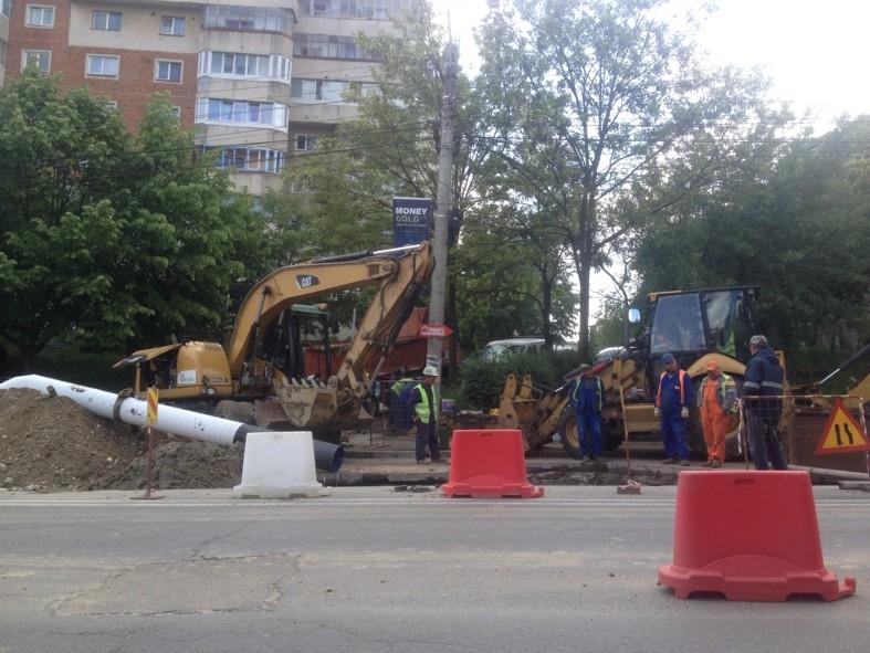 Finalizare lucrări executate în oraşul Topoloveni