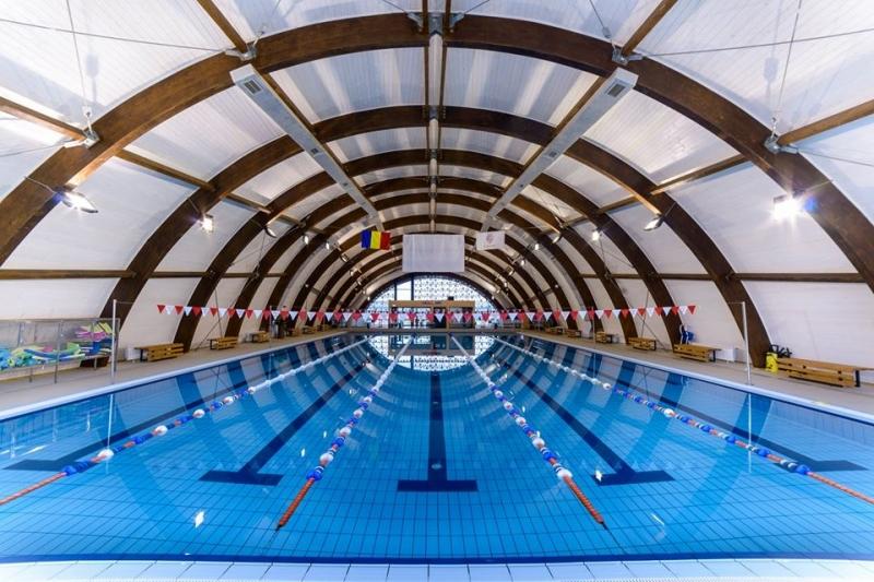Bazinul de Înot de la Mioveni, închis pentru revizie