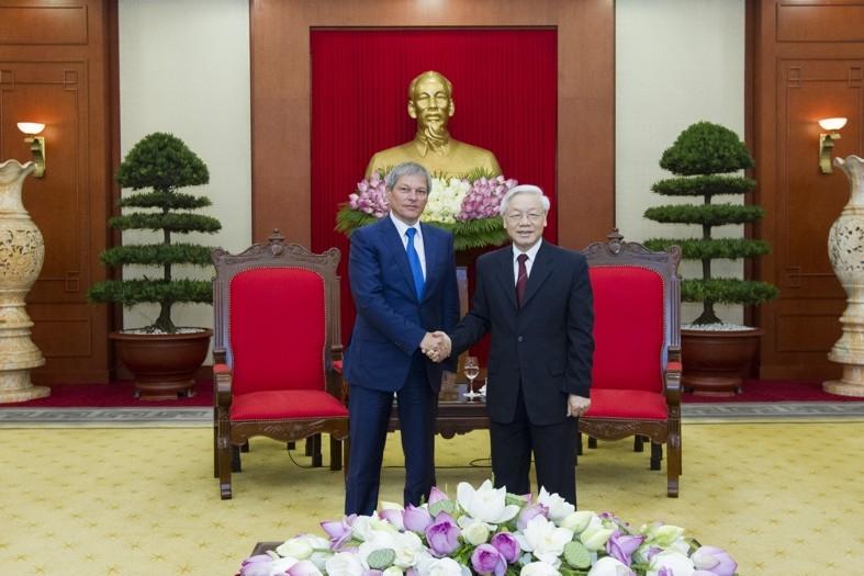 Declarația comună a prim-ministrului Dacian Cioloș, și a prim-ministrului Republicii Socialiste Vietnam, Nguyen Xuan Phuc