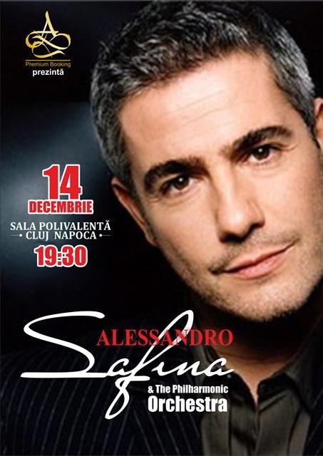 Tenorul Alessandro Safina revine cu un nou concert la Sala Polivalentă din Cluj