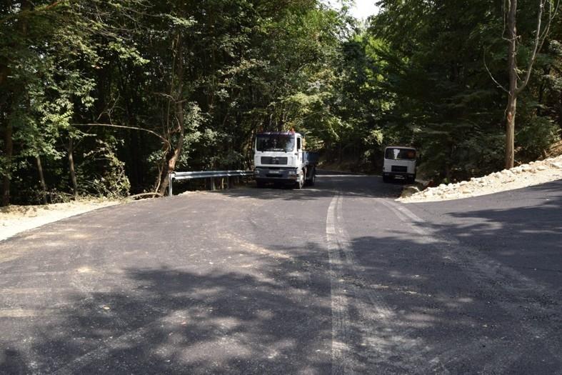 Drum asfaltat între Mioveni şi Ştefăneşti