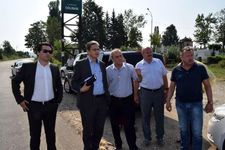 Georgescu ştie ce vrea: Bulevardul Dacia din Mioveni