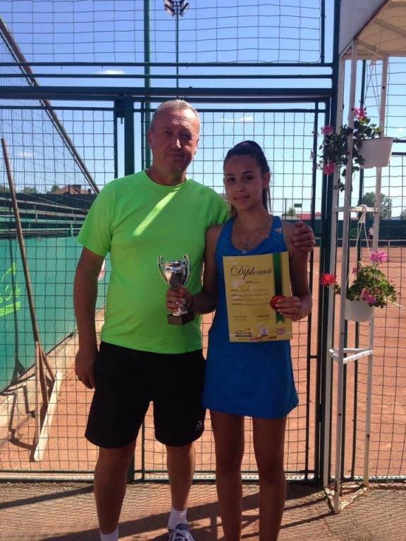 Medalie importantă pentru o tenismenă din Mioveni