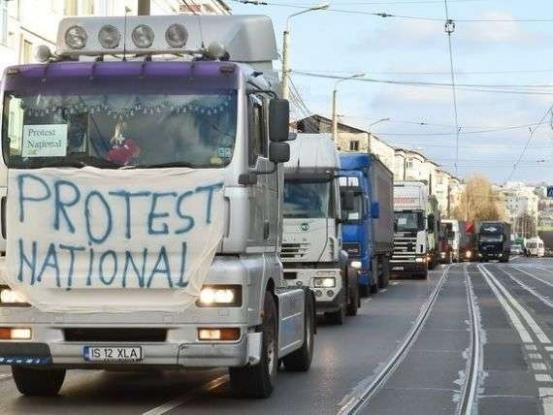 Transportatorii se pregătesc de proteste