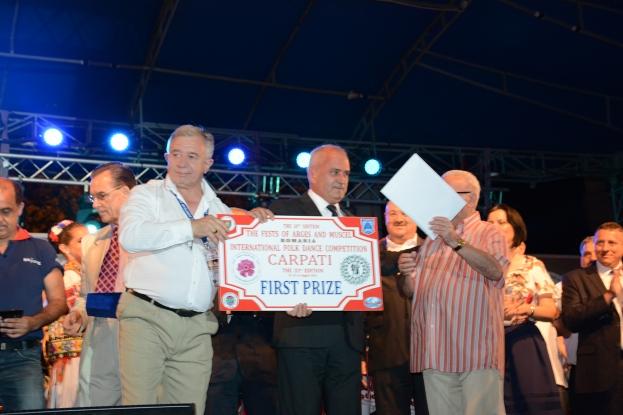 Bulgarii au câştigat marele premiu la Festivalul Carpaţi
