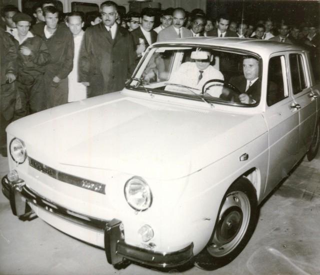 48 de ani de la prima Dacia 1100 produsă la Mioveni