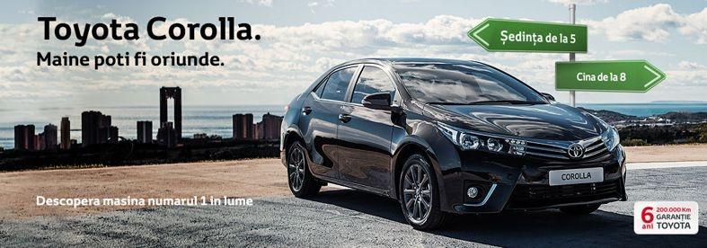 Toamna incepe cu preturi promotionale la  Toyota Pitesti!
