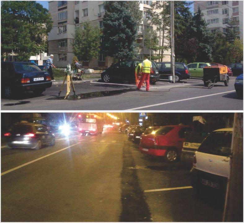 În Trivale: Au asfaltat prost ... şi acum sparg