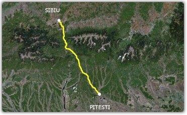 Lucrări avansate pentru studiul privind autostrada Piteşti-Sibiu