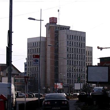 Clădirea CEZ, la Primărie