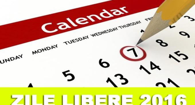 Ce sărbători legale mai avem în acest an?
