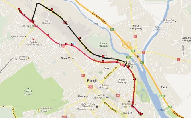 Linie nouă de autobuz în Piteşti