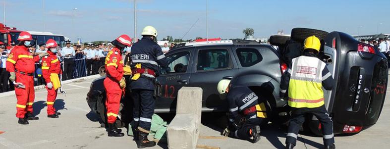 Dacia sustine antrenamentele pompierilor