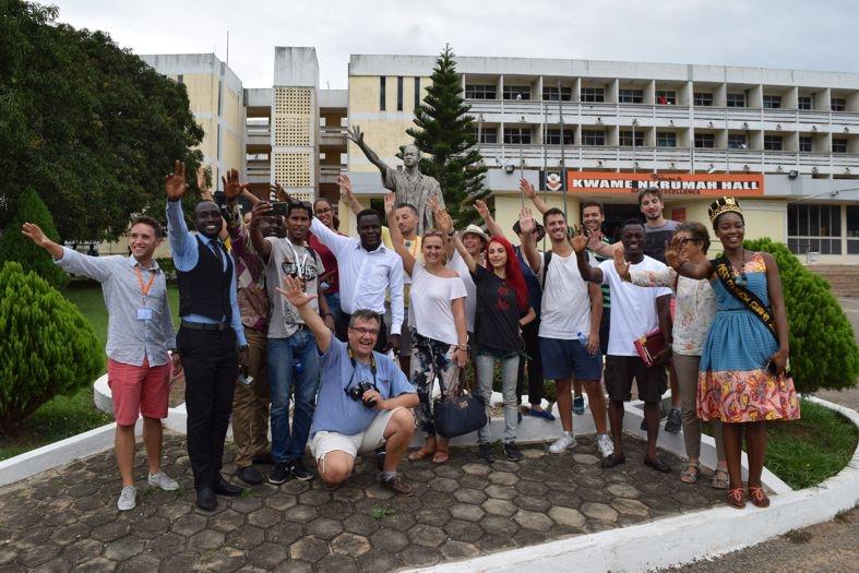 Asociația Imago Mundi a ajuns în Ghana, Africa!
