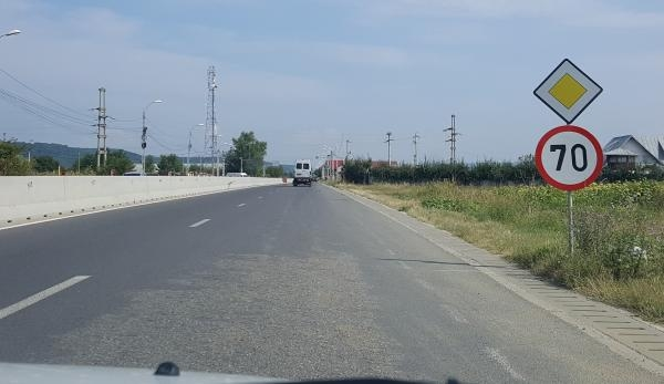 Probleme pe DN73 Piteşti-Braşov