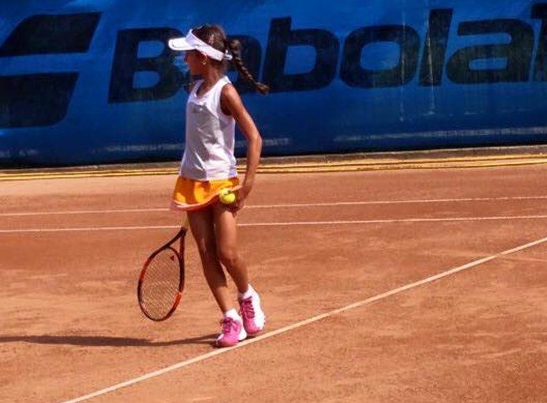 Flavia Ogrezeanu, bronz la tenis de câmp